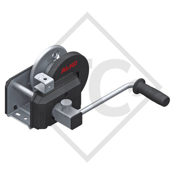 Cable winch PLUS 500kg, type 501 with automatic weight brake, with automatic unwinder, without cable/band