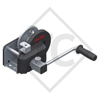 Seilwinde PLUS 500kg, Typ 501 mit automatischer Lastdruckbremse, mit Abrollautomatik, ohne Seil/Band