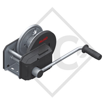 Cable winch PLUS 900kg, type 901 with automatic weight brake, without automatic unwinder, without cable/band