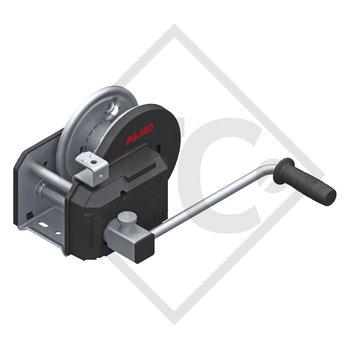 Seilwinde PLUS 900kg, Typ 901 mit automatischer Lastdruckbremse, mit Abrollautomatik, ohne Seil/Band