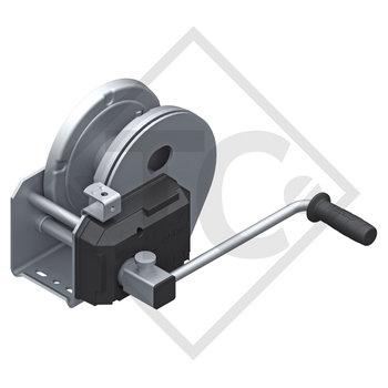 Seilwinde PLUS 1150kg, Typ 1201 mit automatischer Lastdruckbremse, mit Abrollautomatik, ohne Seil/Band