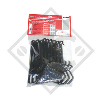 Bowden cable holder, 10 units packaged