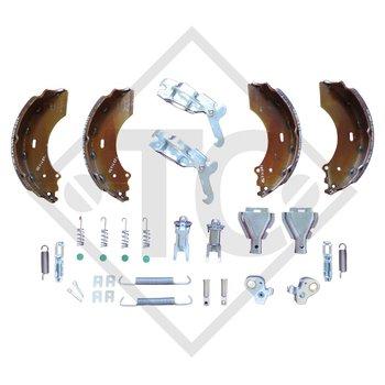 Bremsbacken Radbremse 2361, Bremsengröße 230x60mm