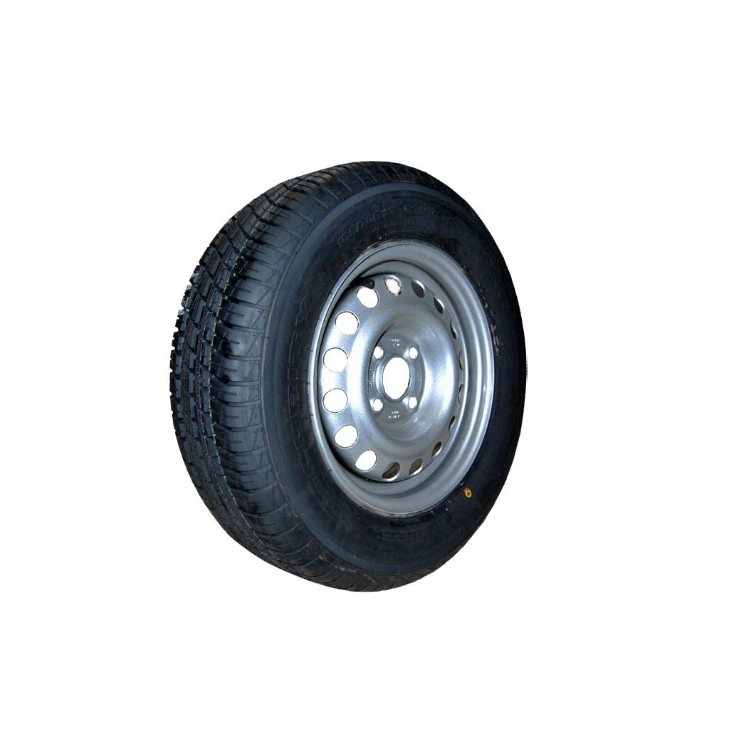 WHEEL AND TYRE PACKAGE, COMPLETE, TYRE SIZE 17.5 INCH (+17.5 inch on request)