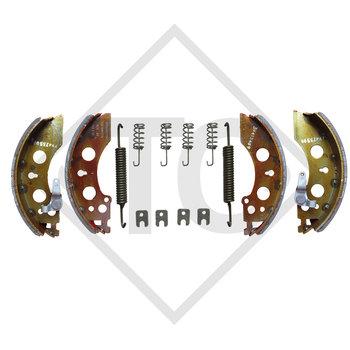 Brake shoes, wheel brake 2051 AAA, brake size 200x50mm
