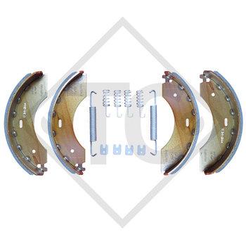Bremsbacken Radbremse 2350, Bremsengröße 230x50mm