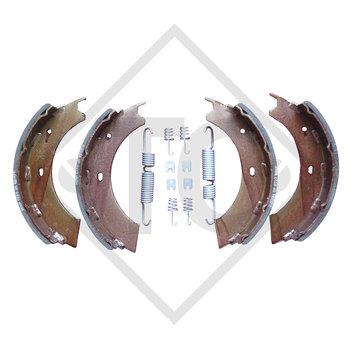 Bremsbacken Radbremse 3062, Bremsengröße 300x60mm