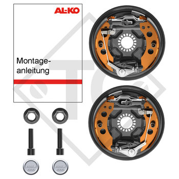Retrofit set AAA for wheel brake 2051, version with toothed profile