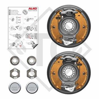 Nachrüstset AAA für Radbremse 2361, Version Zahnverschraubung mit 4-Loch