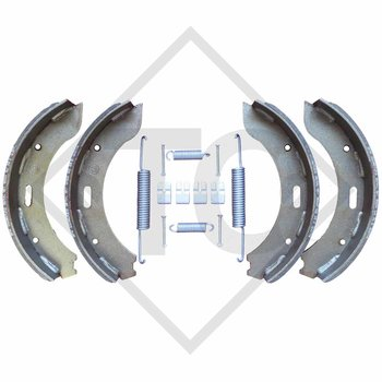Brake shoes, wheel brake S 3006-7 RASK und S 3006-7 SK brake size 300x60mm