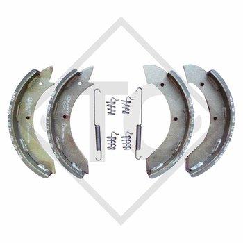 Bremsbacken Radbremse R 234-76, Bremsengröße 230x40mm