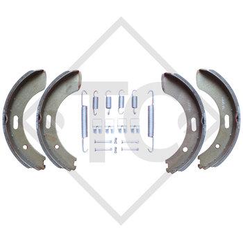 Bremsbacken Radbremse S 2504-7 RASK, Bremsengröße 250x40mm