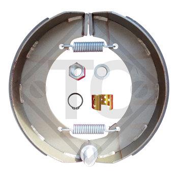 Bremsbacken Radbremse 350x80 - 35S - QA, Bremsengröße 350x80mm