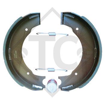 Brake shoes, wheel brake 400x80 - 40G - TA, brake size 400x80mm