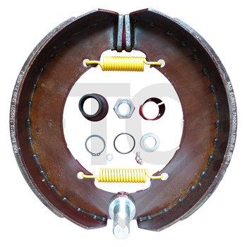 Brake shoes, wheel brake 350x90 - 359E - QC and QF, brake size 350x90mm
