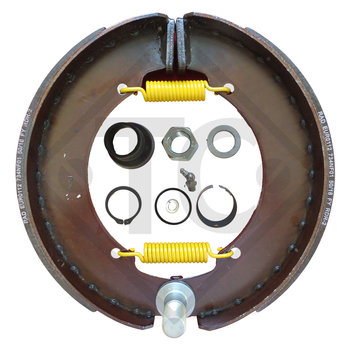 Brake shoes, wheel brake 350x60 - 356E - NF, brake size 350x60mm