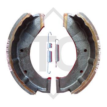 Brake shoes, wheel brake 300x90 - 309R - IT, brake size 300x90mm