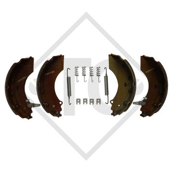 Brake shoes, wheel brake 2361 AAA, brake size 230x60mm