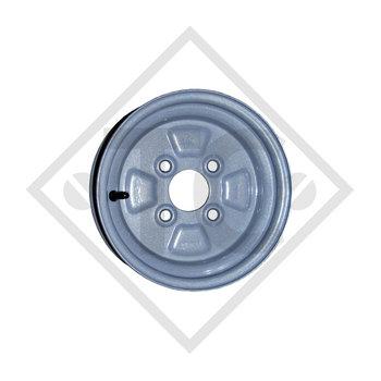 Anhänger Felge 3.50Bx10 H2, 4/60/100, ET 0, 274539