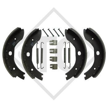 Bremsbacken Radbremse B 200/1, Bremsengröße 200x30mm - NACHBAU