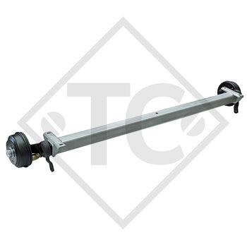 Braked axle SWING 1350kg axle type CB 1355, 46.25.379.744