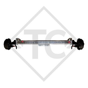 Braked axle SWING 1500kg axle type CB 1505, 46.27.379.418, HUMBAUR