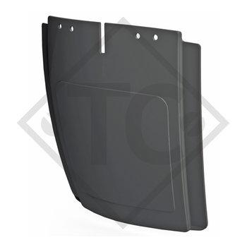 Splash protection suitable for mudguard type SA 260