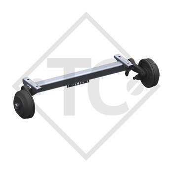 Braked axle SWING 1800kg axle type CB 1805, 46.32.368.663