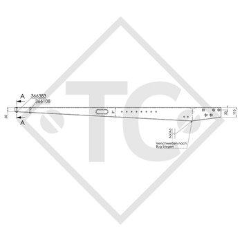 Zugverbindung (rechts) ZEA 1.35-2 bis 1350kg, 05.268.36.74.1 (4020399)