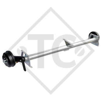 Braked axle 1050kg SWING axle type CB 1054, 46.21.379.889