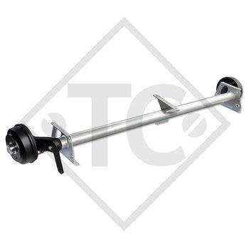 Braked axle SWING 1500kg axle type CB 1505, 46.27.379.446, 4013489