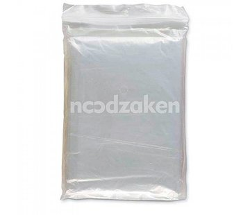 Noodzaken Noodponcho biologisch afbreekbaar (transparant)