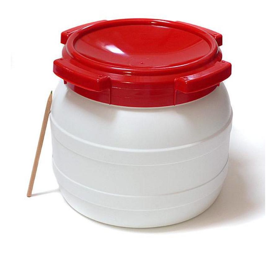 Waterkluisje 10,4 liter (waterdicht tonnetje/vaatje)