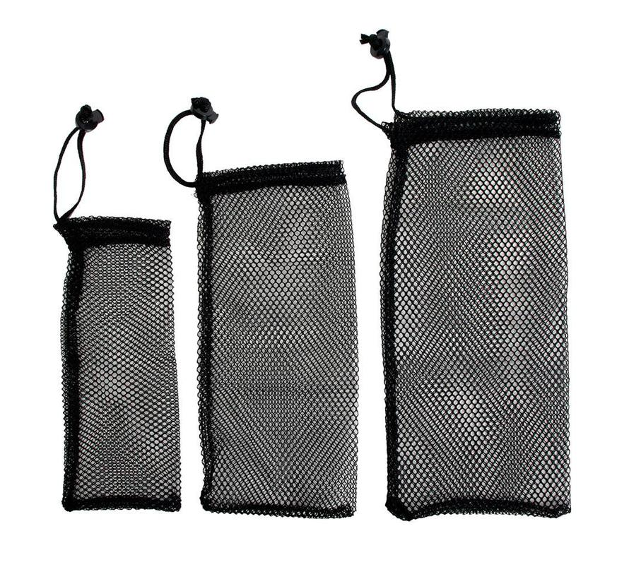 Coghlan's Ditty Bag Set II (3 stuks opbergzakken in see-through gaasstof)