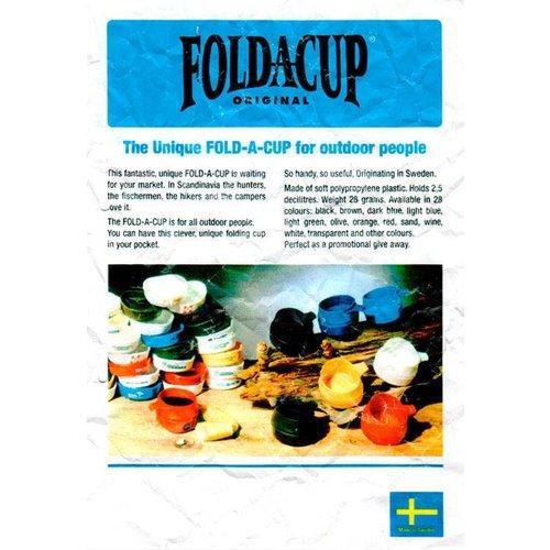 Wildo Fold-A-Cup opvouwbare drinkmok (2 dl - donkergroen)