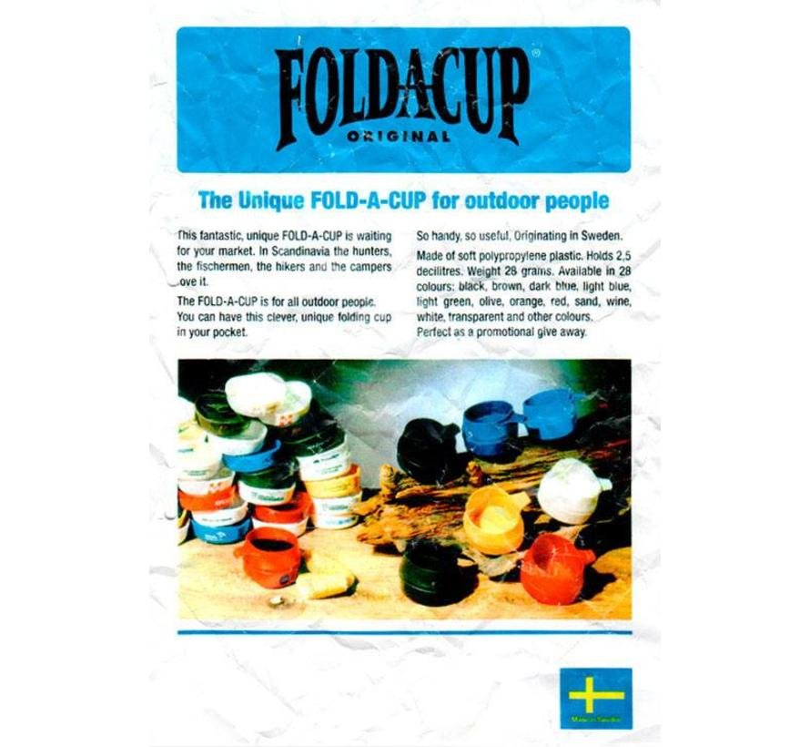 Fold-A-Cup opvouwbare drinkmok (2 dl - donkergroen)