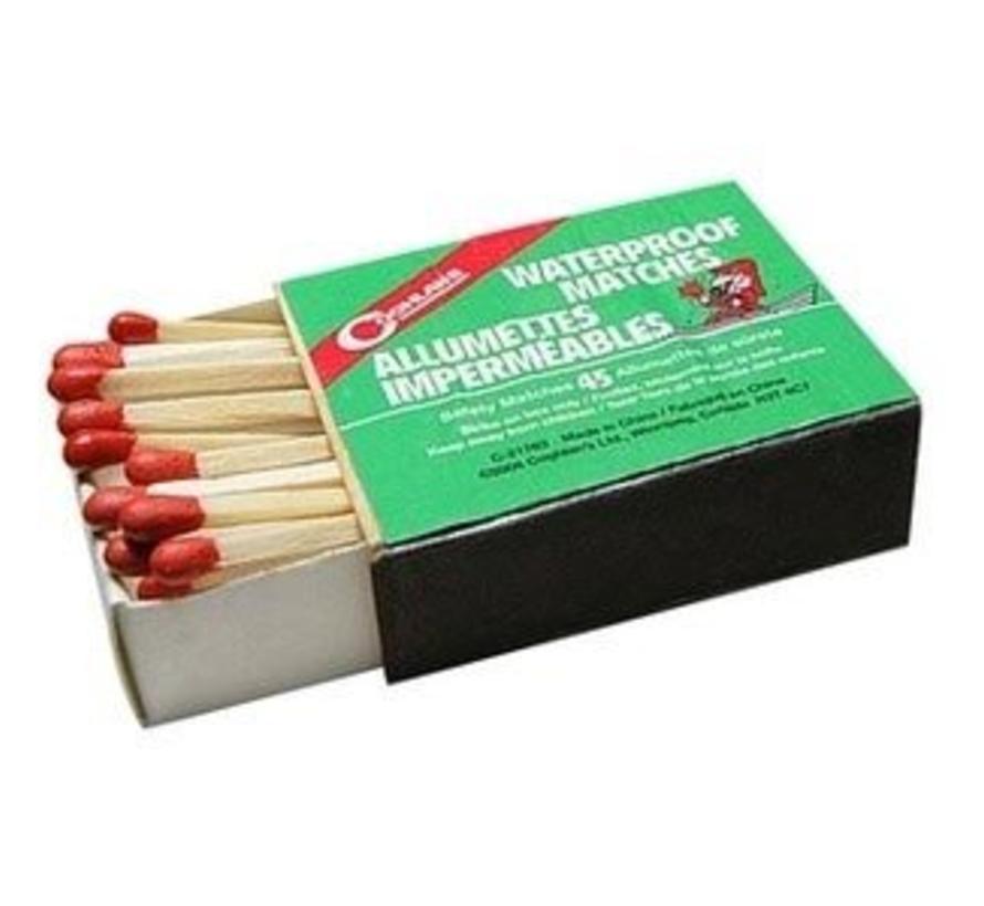 Coghlan's Waterproof Matches (lucifers) los doosje