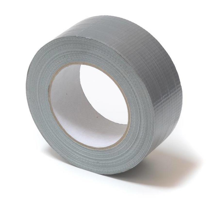 Duct-tape watervast zilver 50meter x 50mm