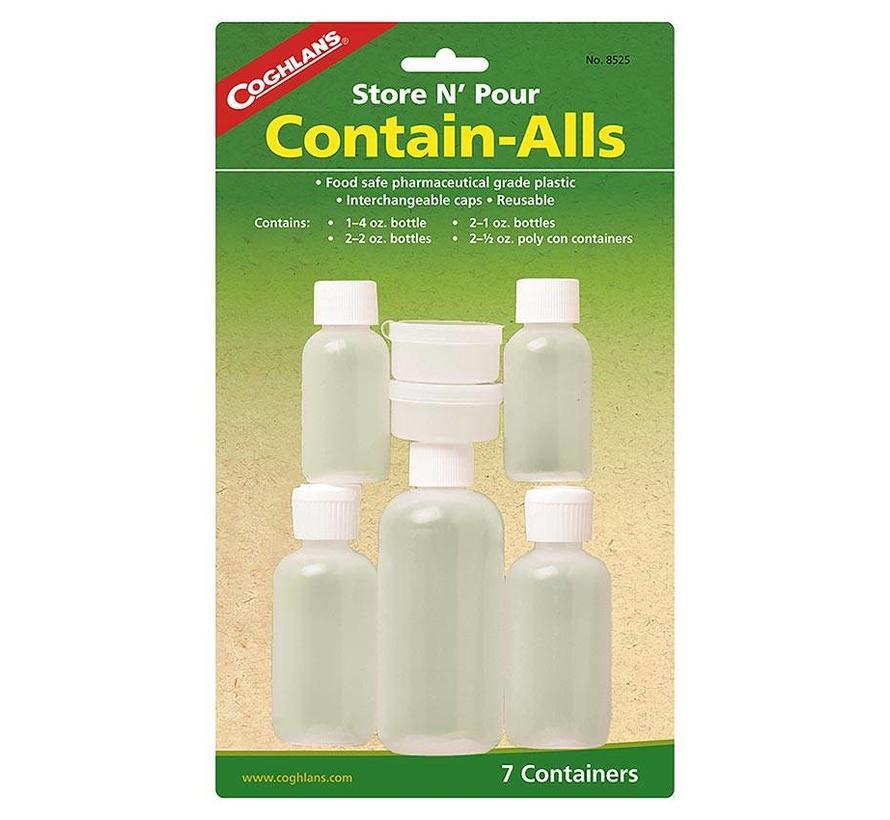 Coghlan's Contain-Alls (voorraadflesjes en -potjes)