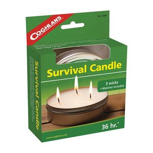 Coghlan's Coghlan's Survival Candle (Kaars 36 uur licht)