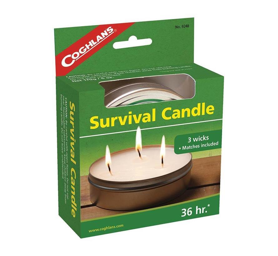 Coghlan's Survival Candle (Kaars 36 uur licht)