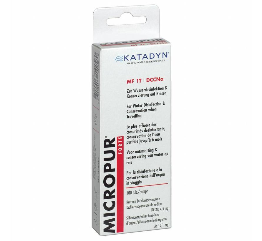 Katadyn Micropur Forte MF 1T (100 waterzuiveringstabletten)