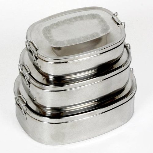 Roestvrijstalen Proviantdoos (middelgroot 0,75 liter)