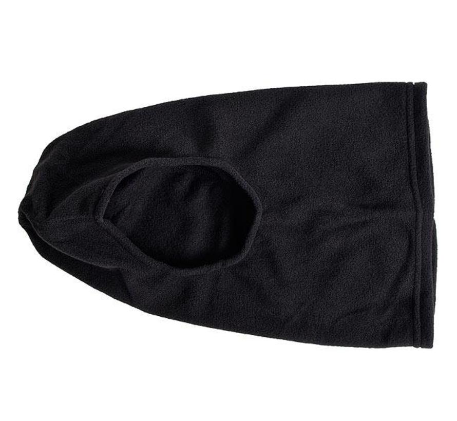 Micro-Fleece Balaclava bivakmuts (zwart - one size)