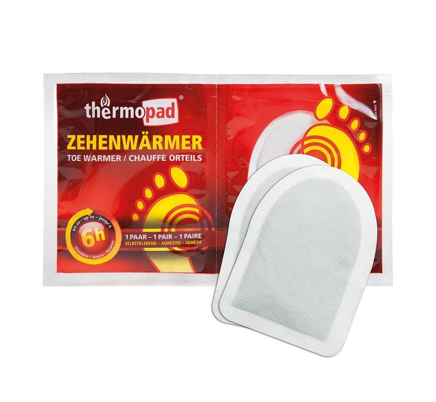 Thermopad Tenenwarmers (1 paar)