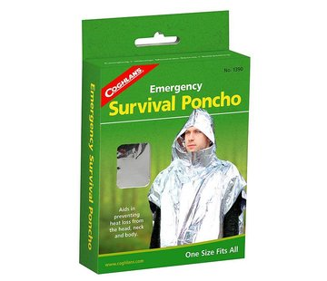 Coghlan's Coghlan's Emergency Survival Poncho (isolatie-/reddingsponcho)