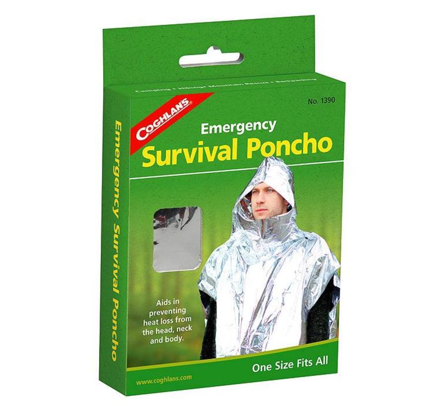 Coghlan's Emergency Survival Poncho (isolatie-/reddingsponcho)