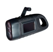 POWERplus Powerplus Seahorse dynamo/solar LED-zaklamp