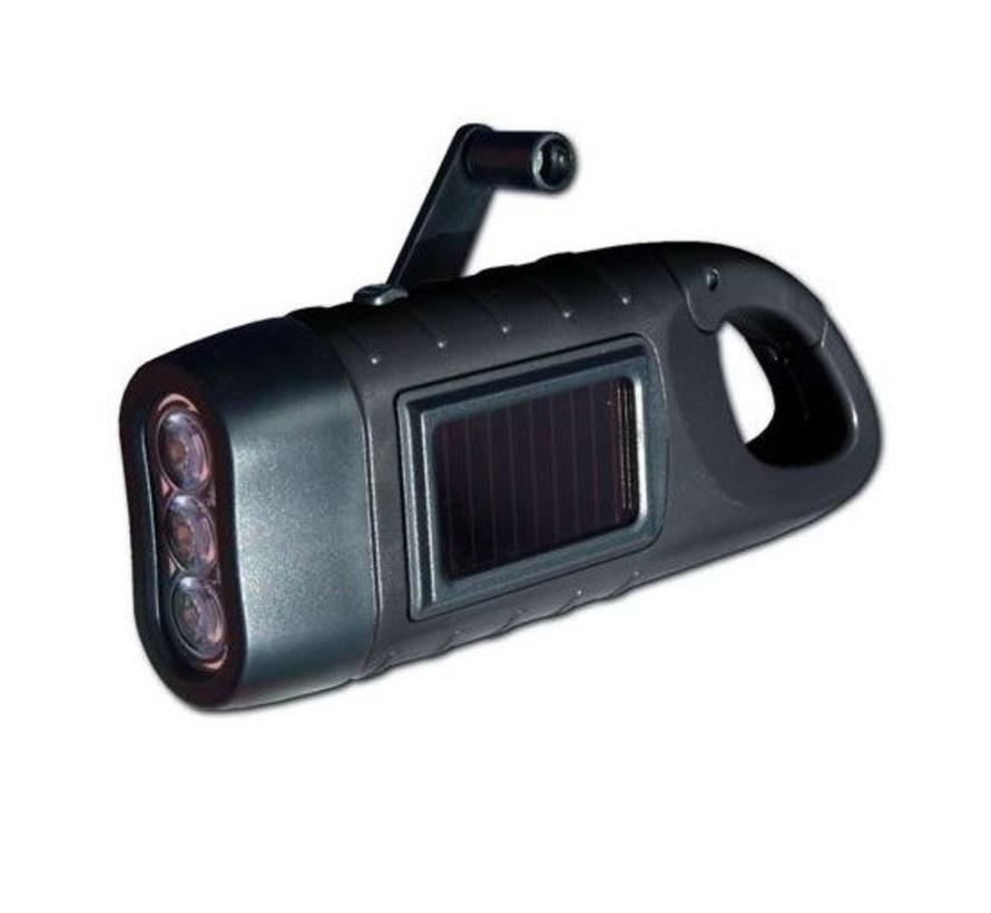 Powerplus Seahorse dynamo/solar LED-zaklamp