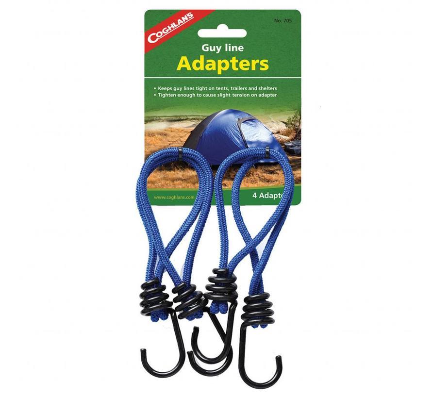 Coghlans Scheerlijnspanner (elastisch - 4 stuks)